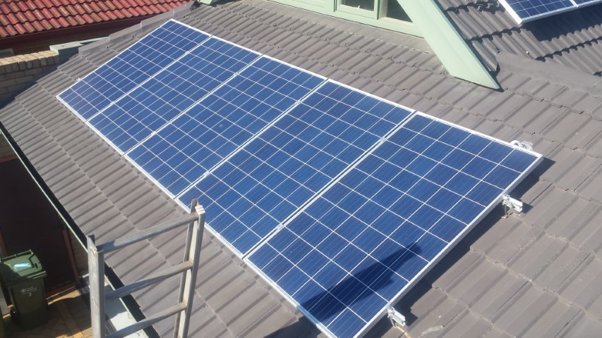 Solar installation 3.06 kW